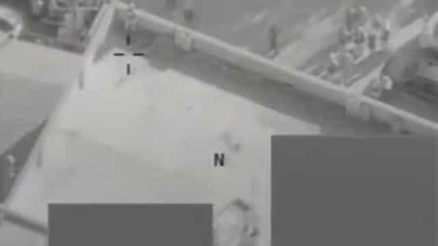 O momento em que míssil travou uma execução do Estado Islâmico