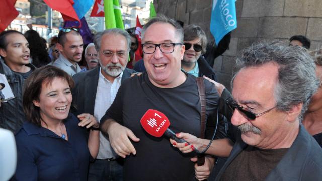 João Teixeira Lopes deixa recados a Altice, Ryanair e Rui Moreira