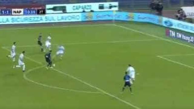Ao alcance de poucos: A fabulosa jogada do Nápoles que terminou em golo