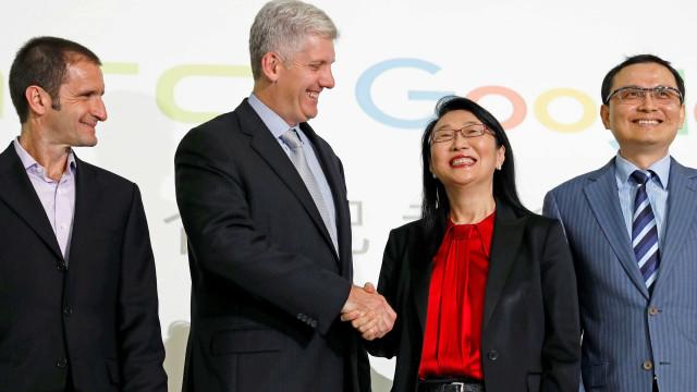 Google e HTC chegam a acordo por 1.1 mil milhões de dólares