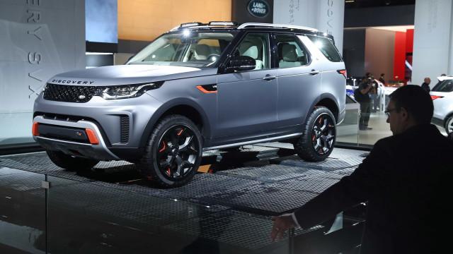 Pode estar para breve um Land Rover 100% elétrico