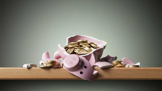 Taxa de poupança das famílias diminuiu no 1.º trimestre