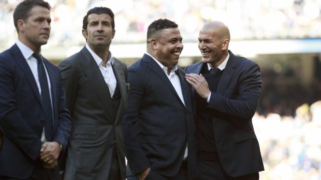 Ronaldo diz estar mais agradecido ao Real do que ao Barcelona