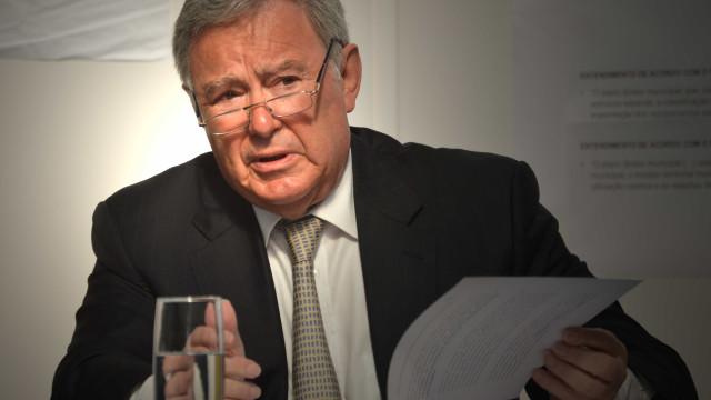 Presidente de Sintra diz que área ardida não é muito significativa