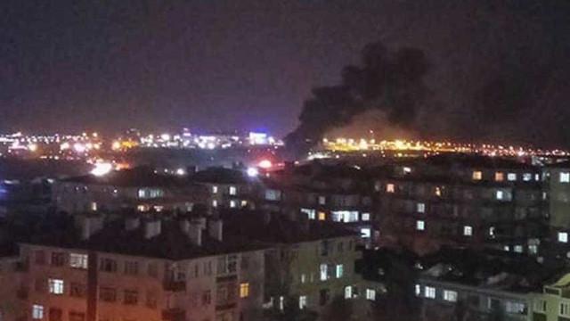 Avião privado incendeia-se em aterragem. Aeroporto de Istambul encerrado