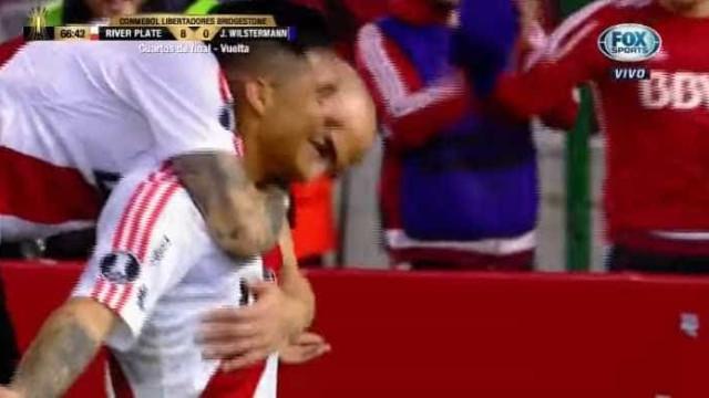 Enzo Pérez meteu a quinta, ultrapassou três e marcou golaço