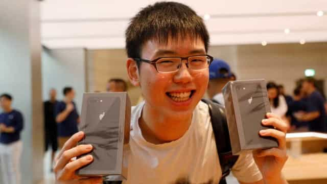 Pouco interesse no iPhone 8 leva sites chineses a 'cortar' no preço