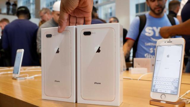 Vendas do iPhone 8 estão dentro da expetativa, diz analista
