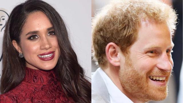 Na primeira aparição pública, Harry trocou Meghan Markle por Melania