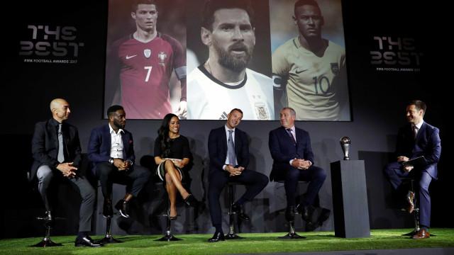 The Best: Cristiano Ronaldo entre os finalistas. Jardim e Mourinho, não