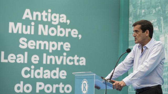 Rui Moreira assegura que não esconde apoio do CDS no Porto