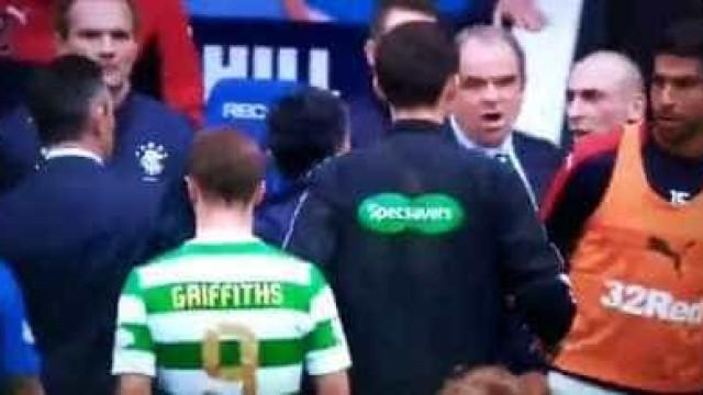 Clássico escocês ferveu (e de que maneira): Caixinha e Brown 'pegaram-se'