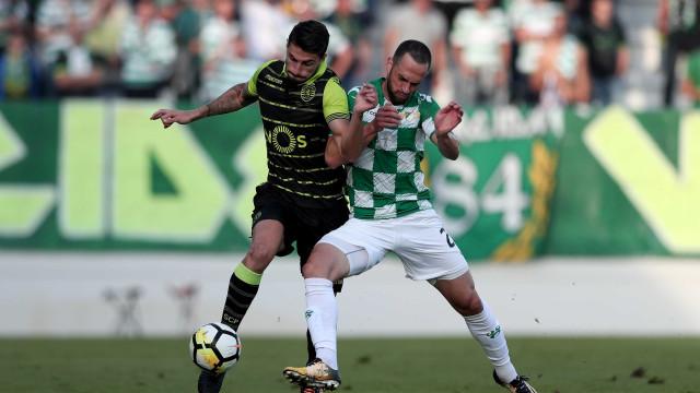[1-0] Sporting recolhe aos balneários a perder com o Moreirense