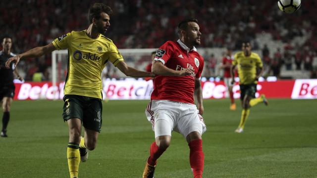 [1-0] Benfica-Paços de Ferreira: Cervi inaugura o marcador