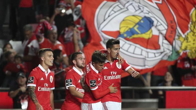 [1-0] Benfica-Paços de Ferreira: Seferovic perto do segundo golo