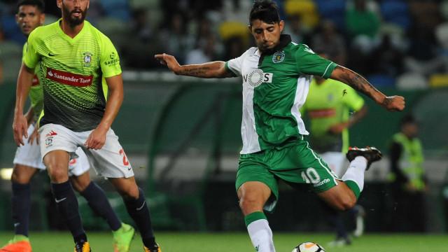 Grémio em conversações com o Sporting por causa de Alan Ruiz