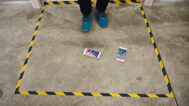 Já tem o iPhone 8? Por favor, não o deixe cair