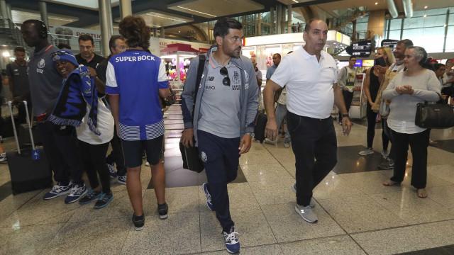 FC Porto viajou para o Mónaco com apenas uma baixa