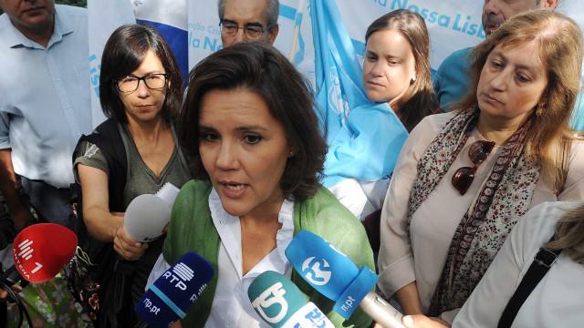 Tendência do CDS junta Assunção Cristas e Manuel Monteiro