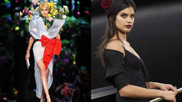 Os melhores momentos das modelos que brilharam nas semanas da moda