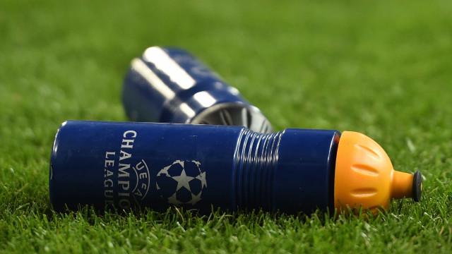 Champions: Todos os resultados e marcadores da 2.ª jornada
