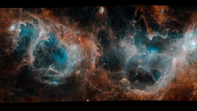 ESA partilhou fotografia incrível de região onde se formam estrelas