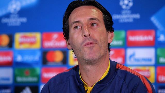 """Emery não quebra tabu: """"Cavani e Neymar vão repartir a responsabilidade"""""""