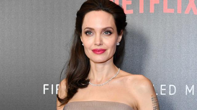 Magreza de Angelina Jolie volta a dar que falar