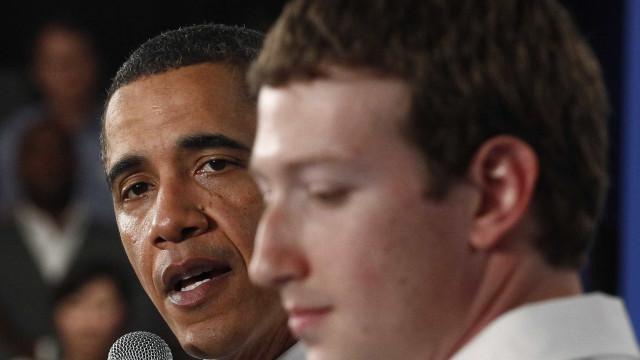 Obama apelou a Zuckerberg para ter mais atenção a notícias falsas