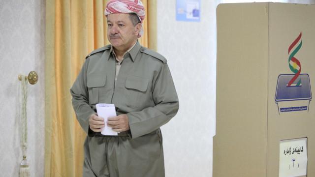 """Líder do Curdistão iraquiano apela """"ao diálogo"""" com Bagdad"""