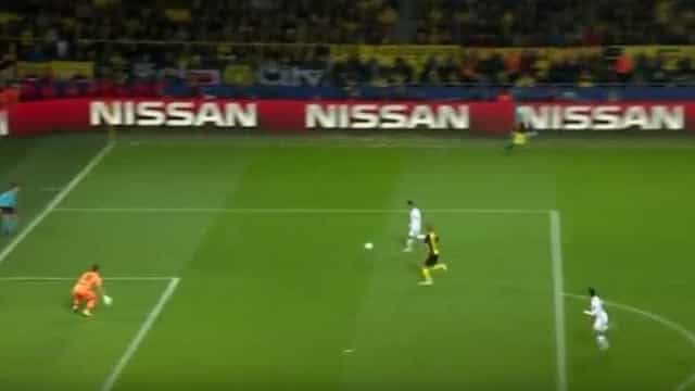 Foi assim que Ronaldo bisou e fechou o marcador