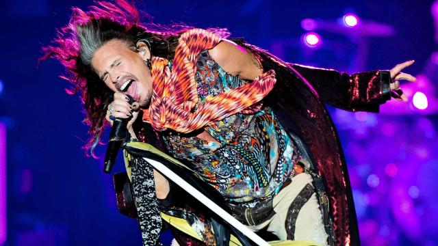 Aerosmith cancelam concertos devido a doença de Steven Tyler