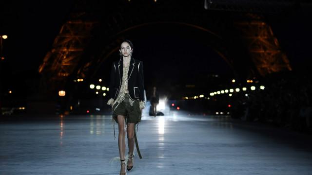 Yves Saint Laurent. Espetáculo em Paris com ADN português