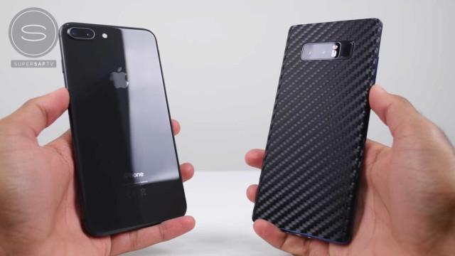 iPhone 8 Plus desafia Galaxy Note 8. Saiba quem saiu vencedor