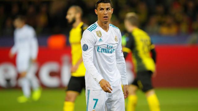 Marca: Ronaldo quer ganhar 25 milhões de euros por ano