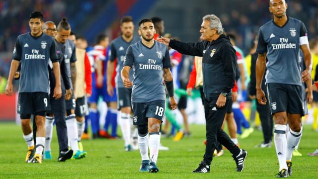 A desilusão do Benfica: Uma noite (muito) negra como há muito não se via