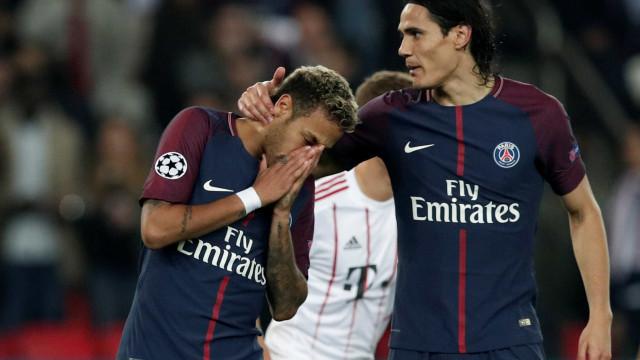 Após polémica, Neymar e Cavani quebram o silêncio