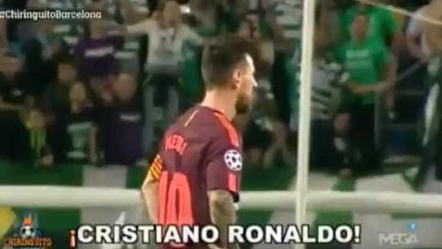 Adeptos do Sporting 'provocaram' Messi chamando... por Cristiano Ronaldo