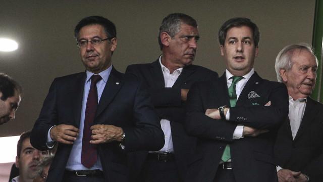 """Bruno de Carvalho: """"A Bola de Ouro irá esta época para um romeno..."""""""