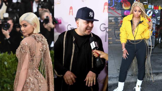 Kylie Jenner ajuda Rob Kardashian e ambos processam Blac Chyna