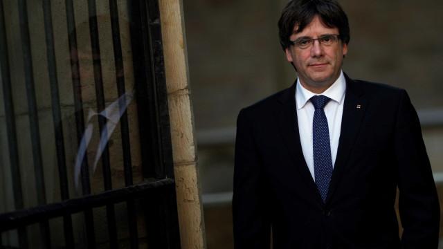 Puigdemont poderá ser detido pela polícia mas não é certo o seu paradeiro