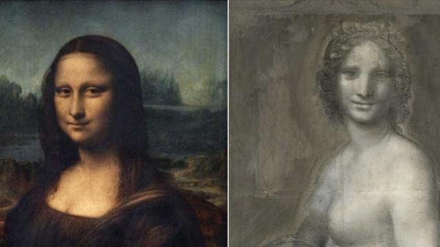 Leonardo DaVinci poderá ser o autor da 'Mona Lisa Nua'