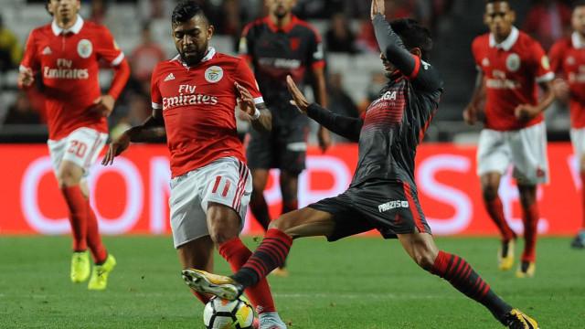 Gabriel Barbosa nega desentendimento com Jardel