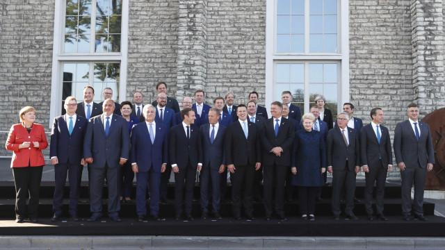 A foto que resume a posição da Grã-Bretanha face à Europa