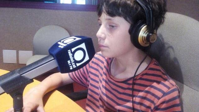 Pere, o menino invisual comentador de futebol que não quer ver