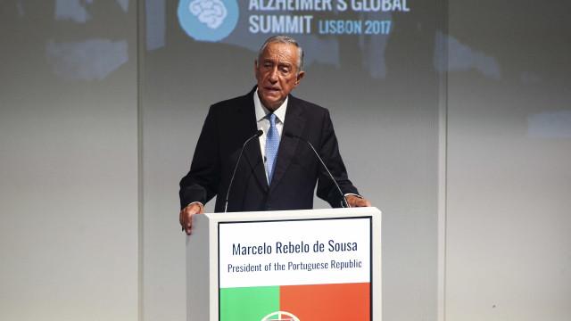 """Marcelo diz ter a mesma posição do Governo sobre a """"questão catalã"""""""