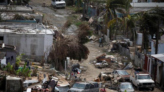 Violência doméstica explica mortes provocadas por furacão em Porto Rico