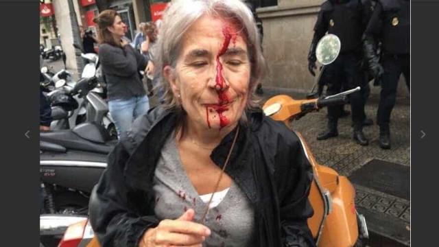 Confrontos na Catalunha já fizeram feridos e detenções