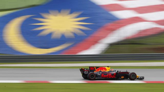 Verstappen vence GP da Malásia. Vettel em 4.º depois de sair em último