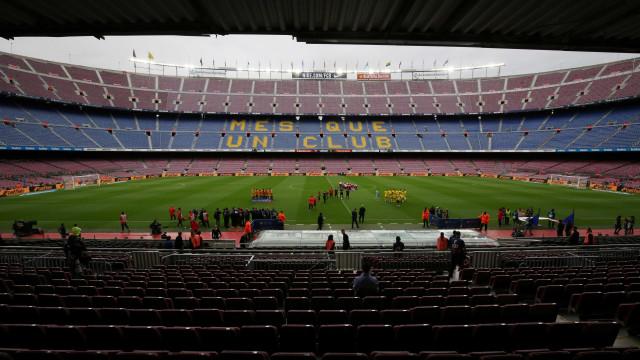 Camp Nou vai mudar de nome por valor exorbitante